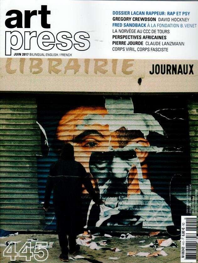 Art Press N° 445 Mai 2017