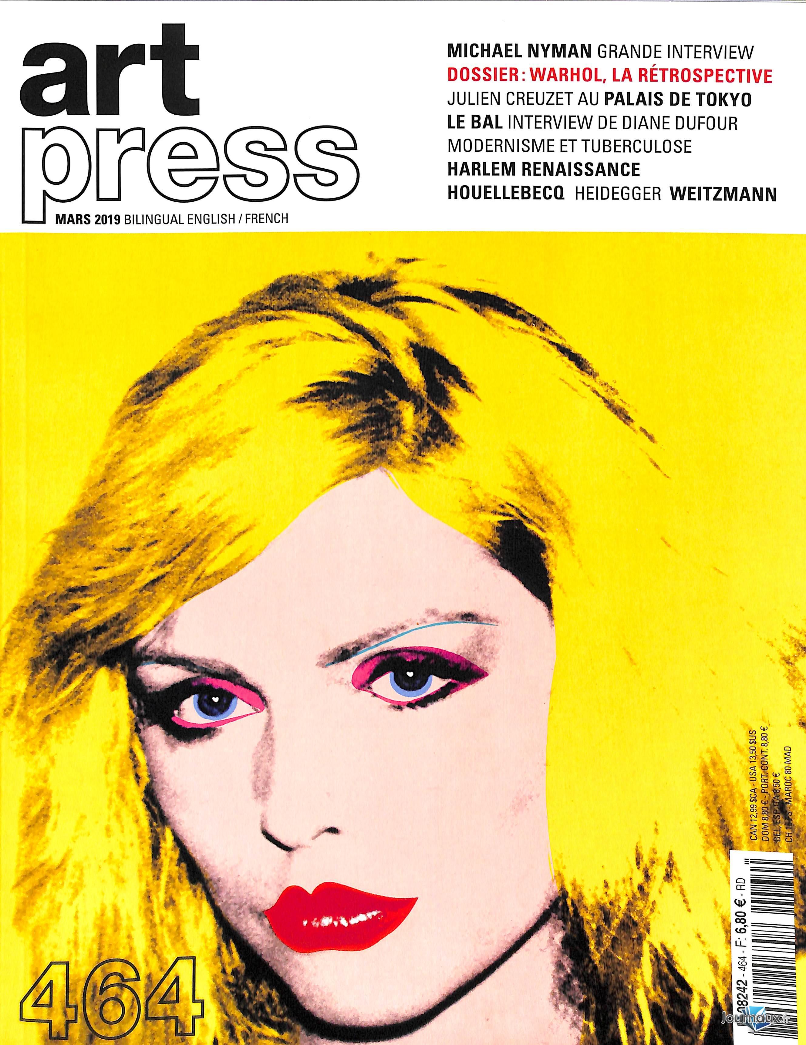 Art Press N° 464 Février 2019
