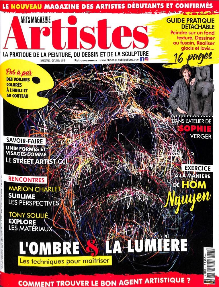 Artistes N° 5 October 2018