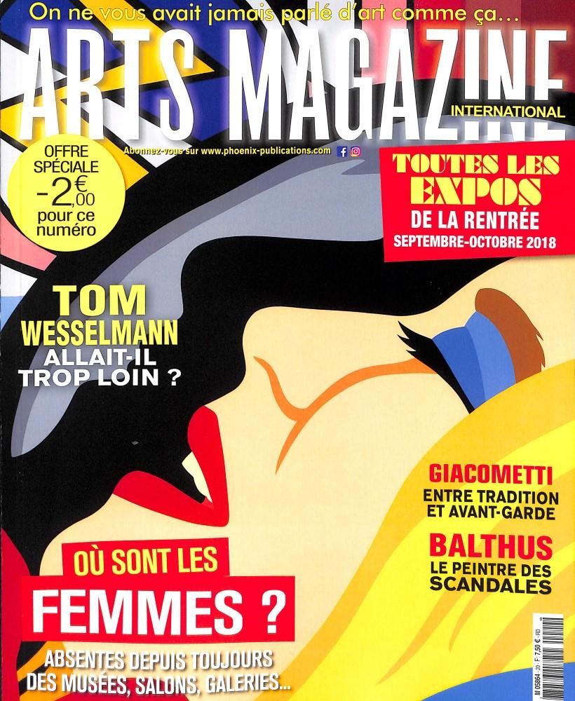 Arts magazine international N° 20 September 2018