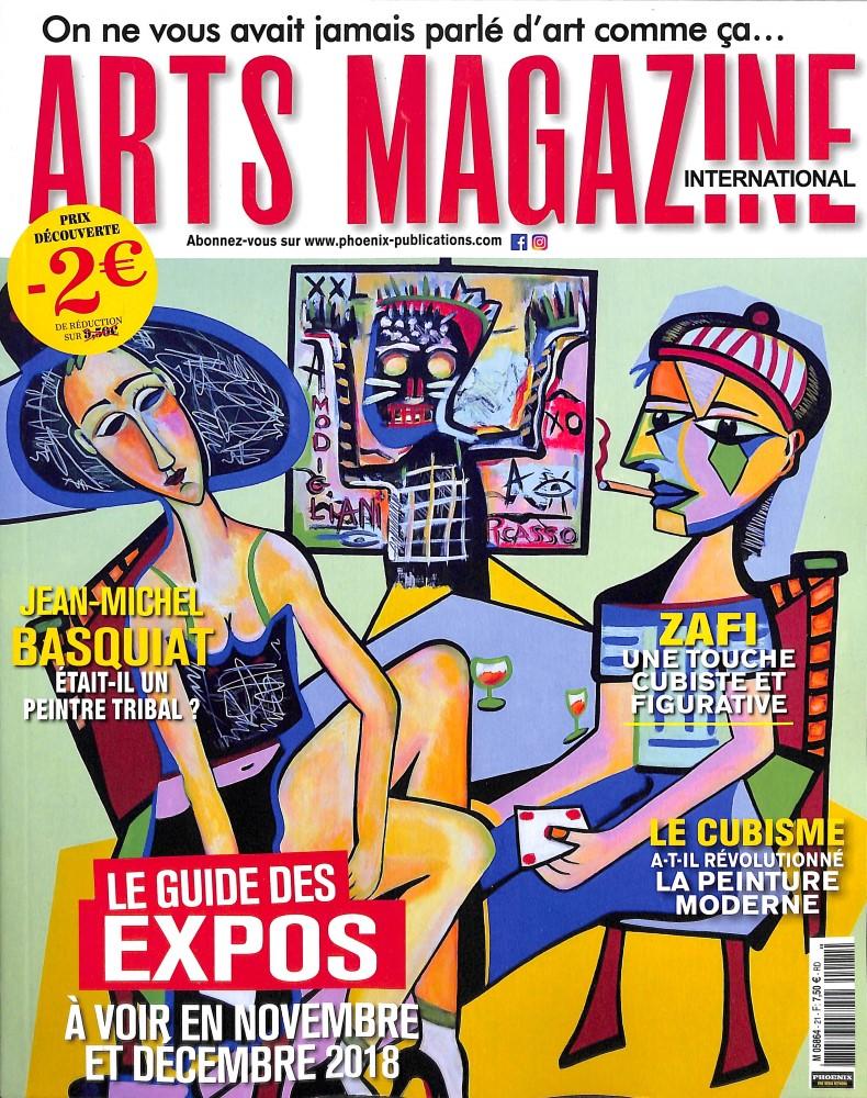 Arts magazine international N° 21 November 2018