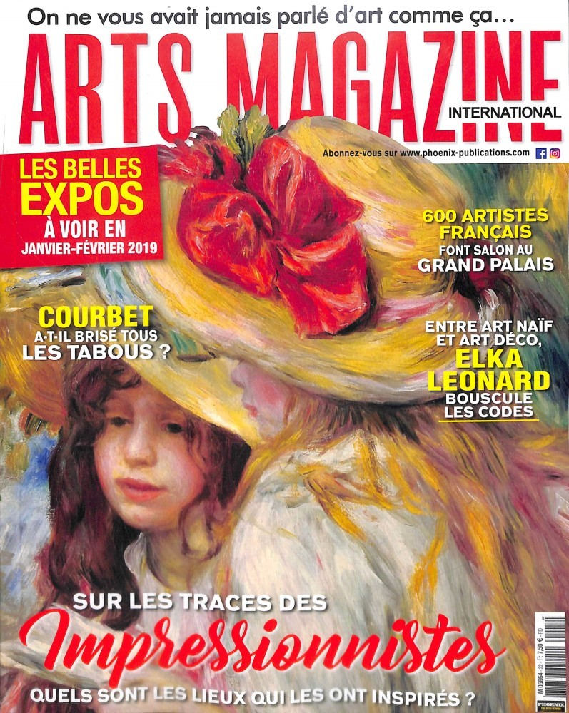 Arts magazine international N° 22 Janvier 2019