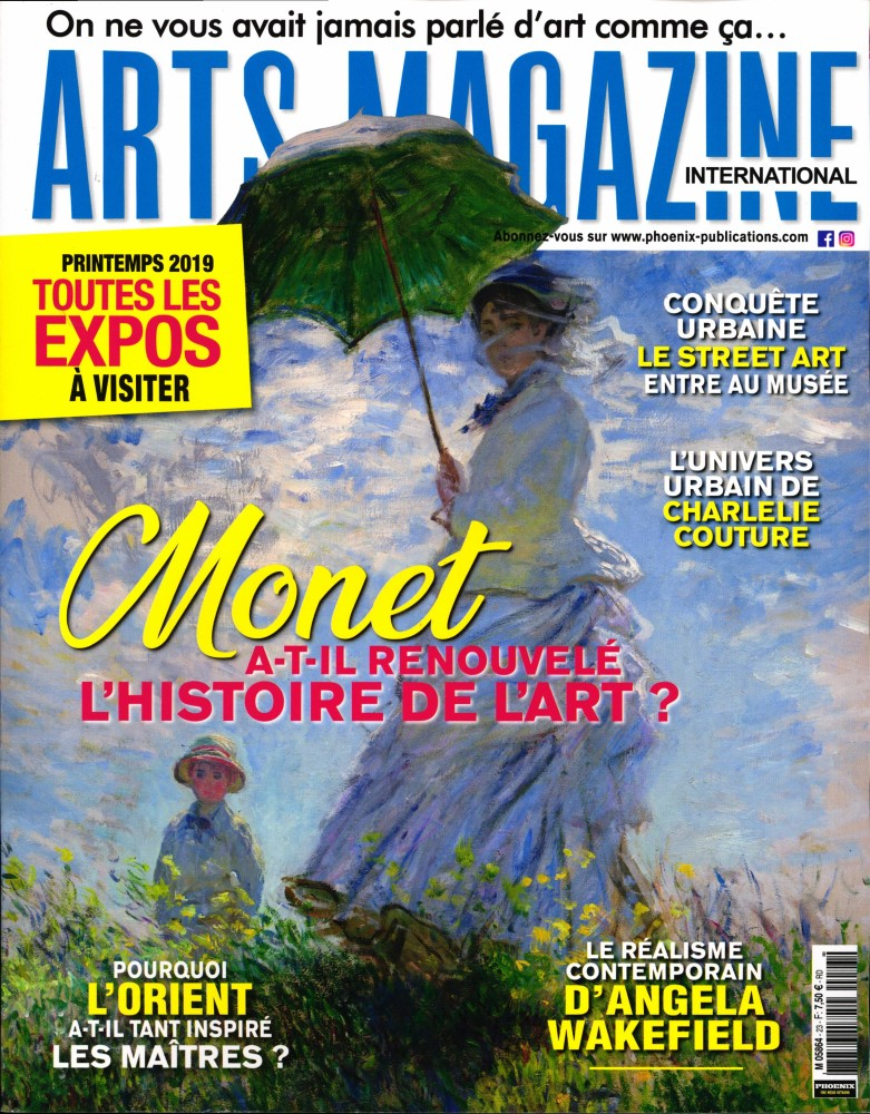Arts magazine international N° 23 Mars 2019