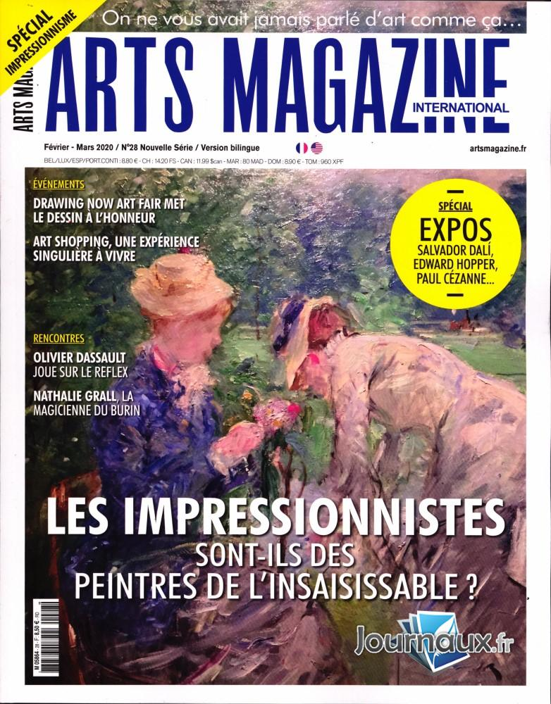 Arts magazine international N° 28 Février 2020
