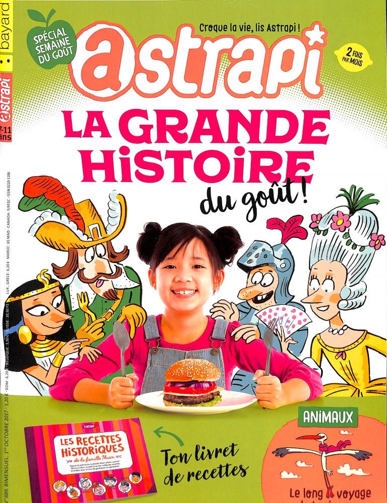 Astrapi N° 890 Octobre 2017