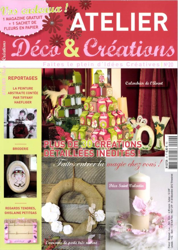 Atelier déco et créations N° 46 Mai 2019