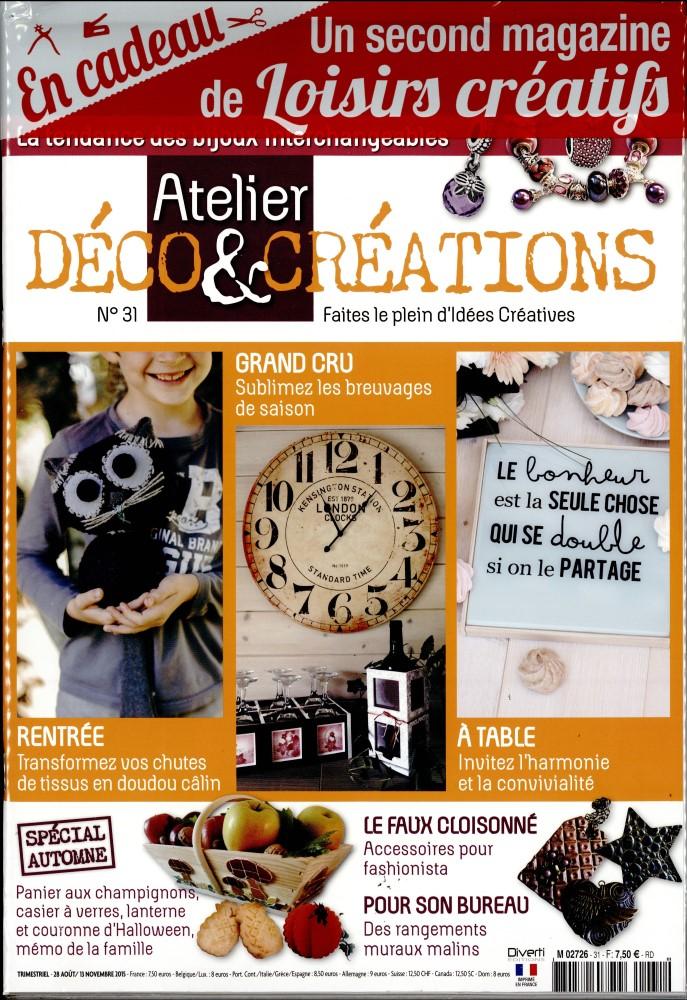 Atelier déco et créations N° 47 Août 2019