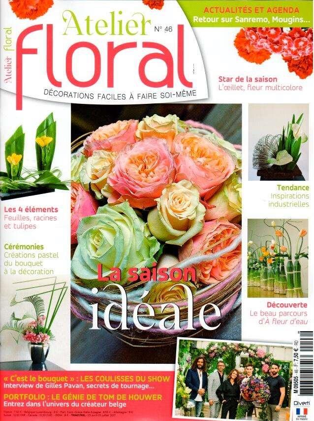 Atelier floral N° 46 Avril 2017