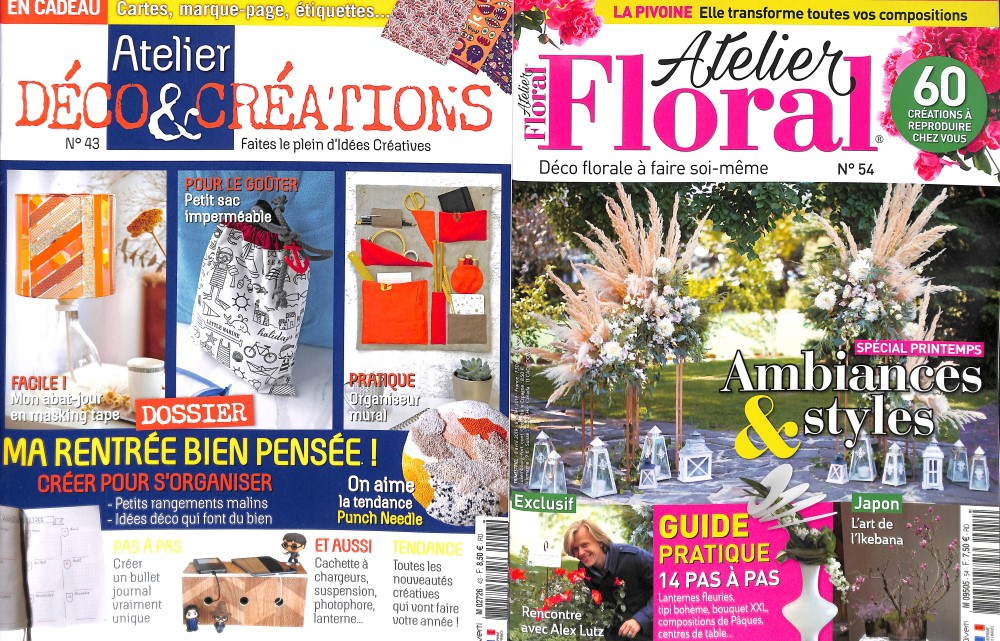 Atelier floral N° 54 Avril 2019