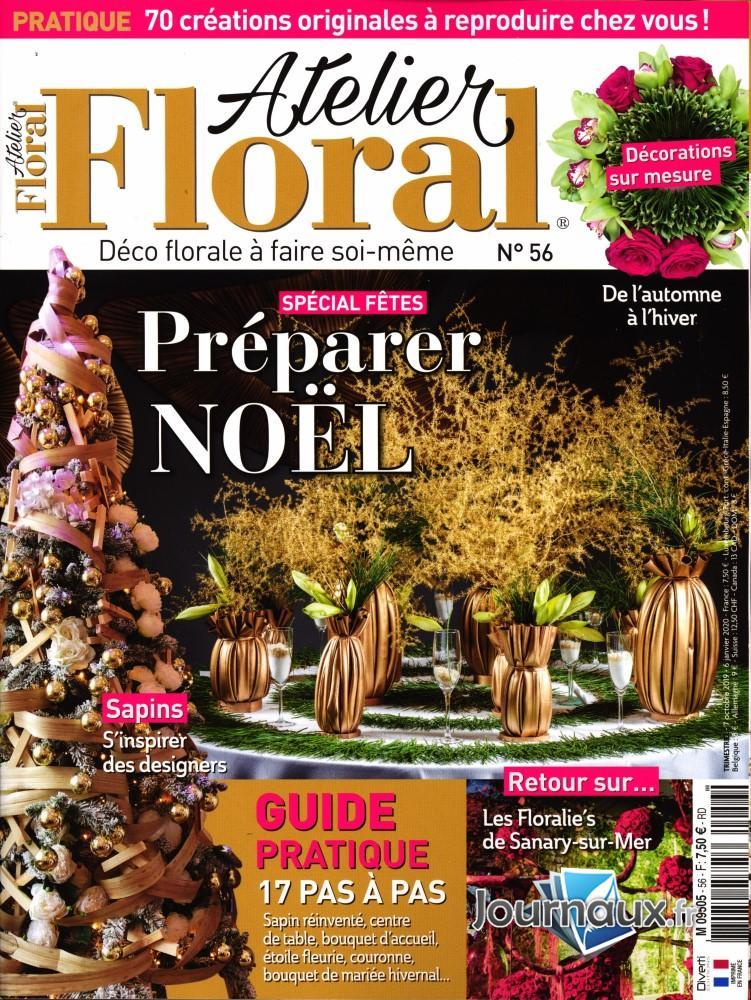 Atelier floral N° 56 Octobre 2019