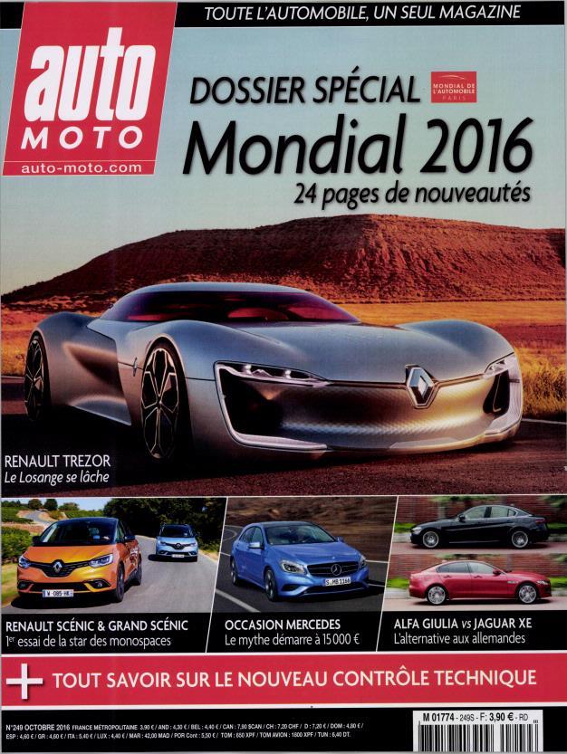 auto moto n 249 abonnement auto moto abonnement magazine par. Black Bedroom Furniture Sets. Home Design Ideas