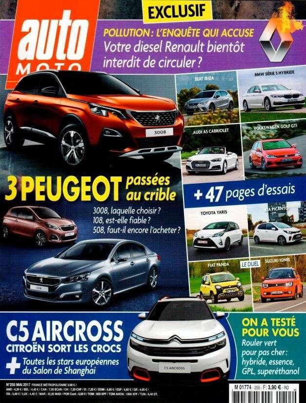 auto moto n 255 abonnement auto moto abonnement magazine par. Black Bedroom Furniture Sets. Home Design Ideas