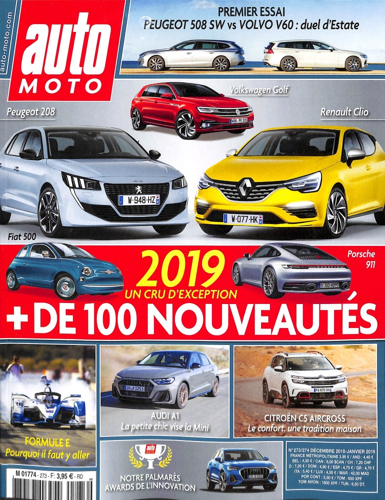 Auto Moto N° 273 December 2018