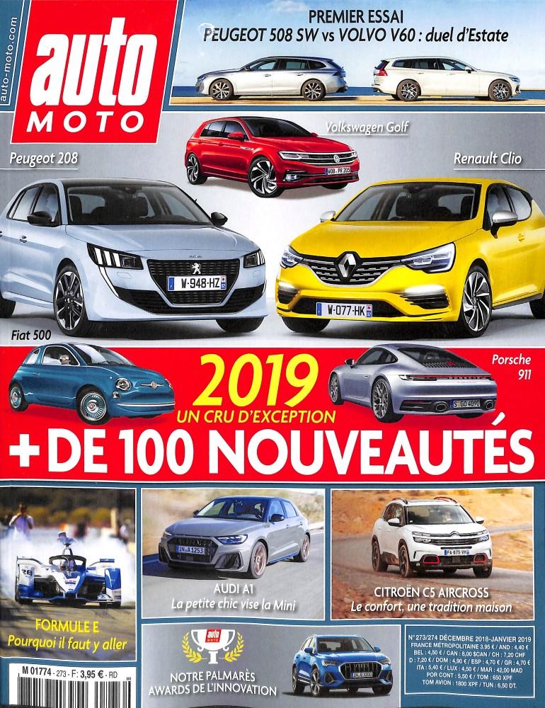 Auto Moto N° 275 Février 2019