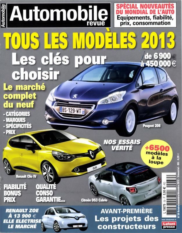Automobile Revue N° 66 Septembre 2019