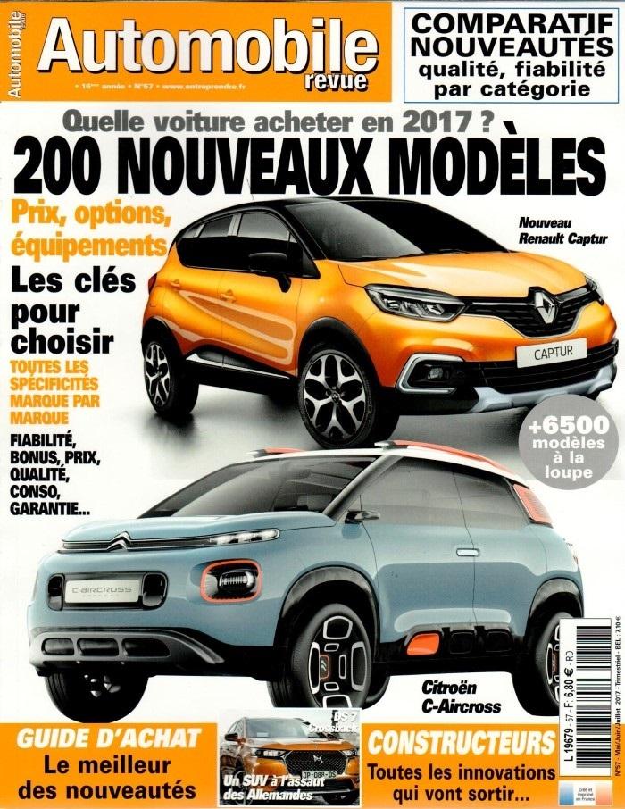 Automobile Revue N° 57 Avril 2017