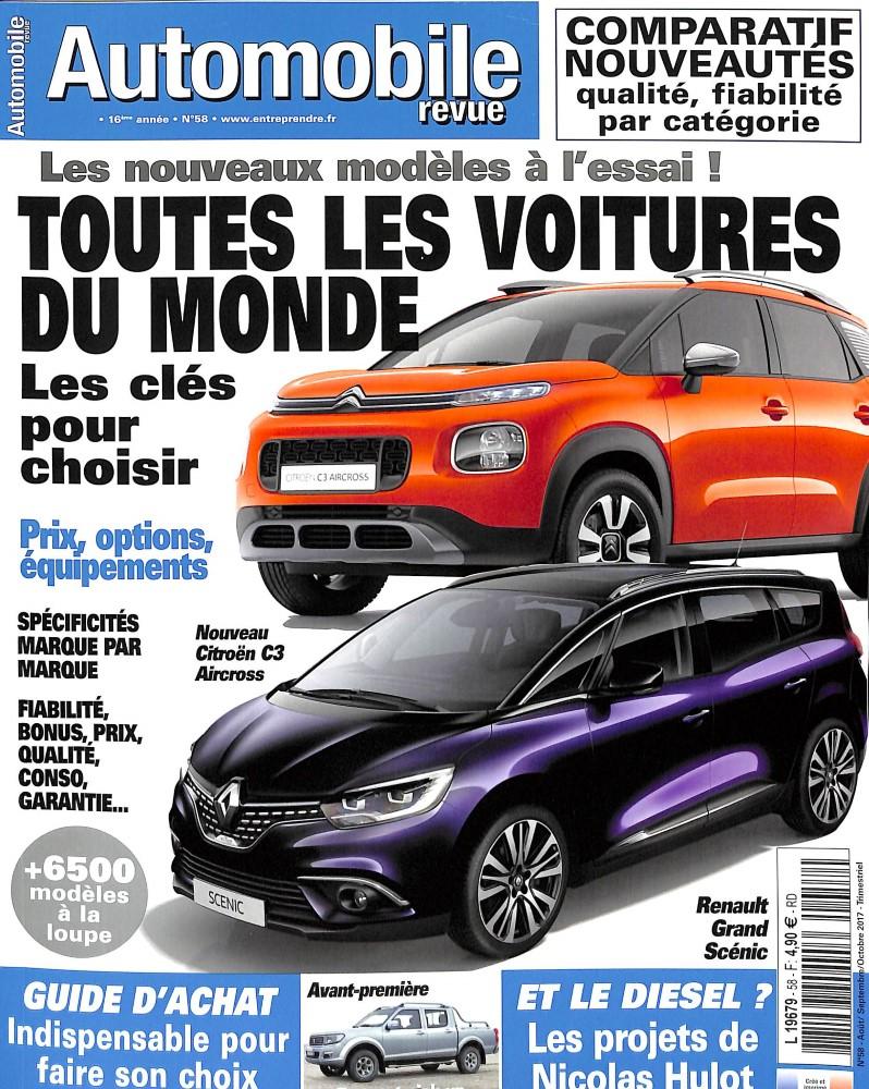 Automobile Revue N° 58 Juillet 2017