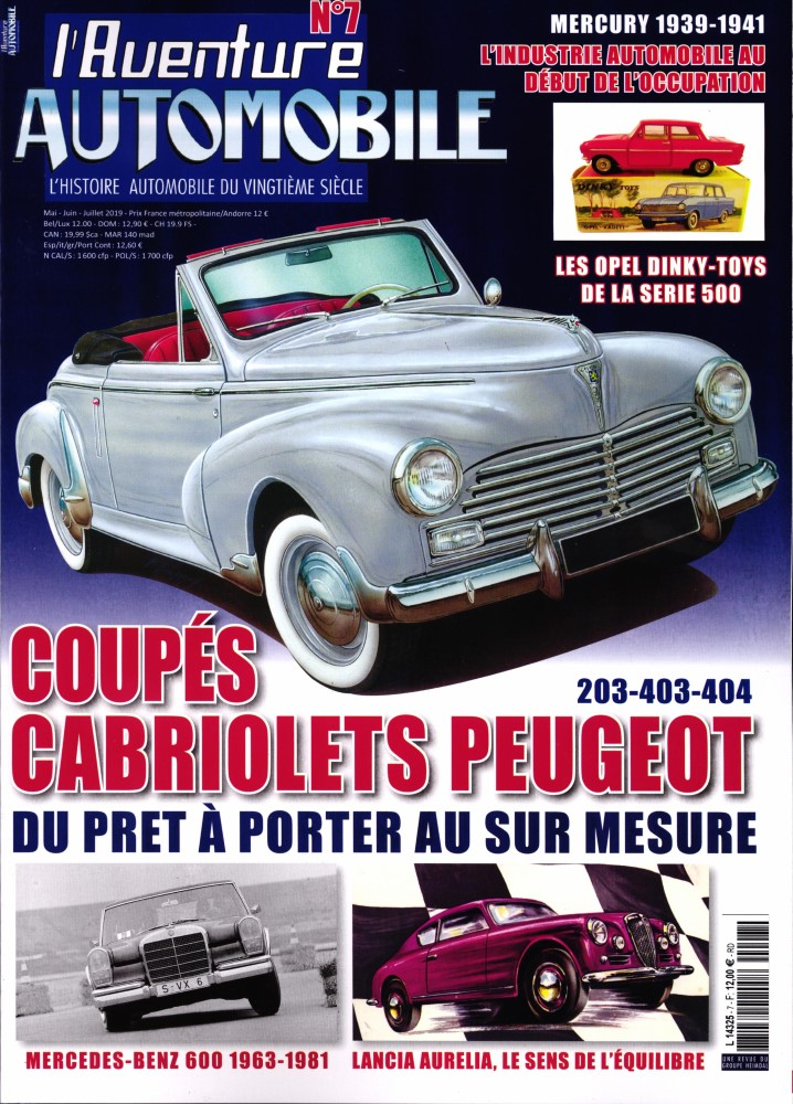 Aventure Automobile  N° 7 Avril 2019