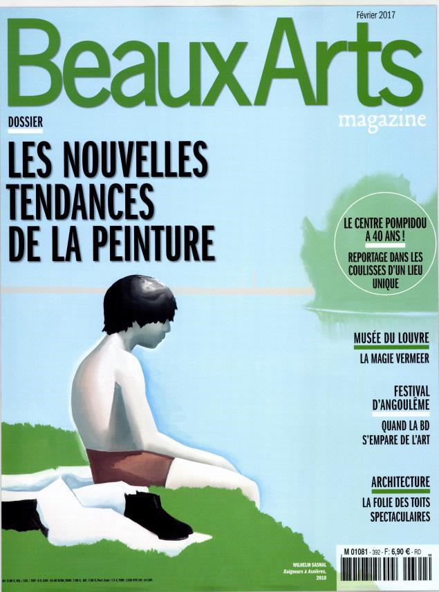 Beaux Arts Magazine N° 392 Janvier 2017