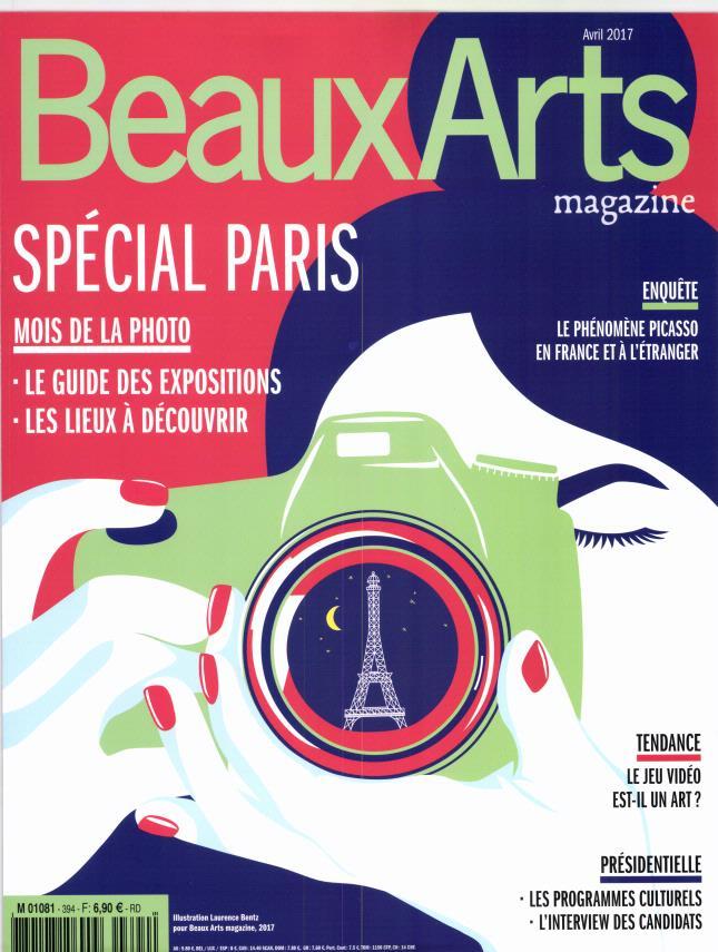 Beaux Arts Magazine N° 394 Mars 2017