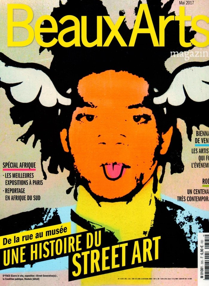 Beaux Arts Magazine N° 395 Avril 2017