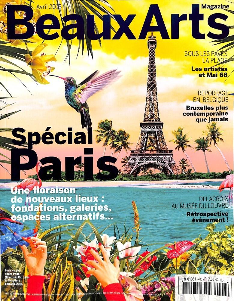 Beaux Arts Magazine N° 406 March 2018
