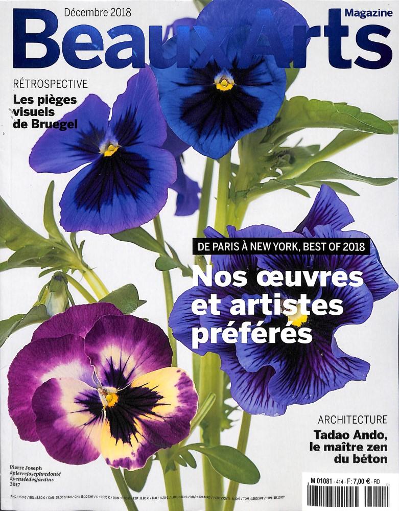 Abonnement BEAUX ARTS MAGAZINE - Revue, magazine, journal BEAUX ARTS MAGAZINE - Le magazine de lactualité des arts - Economisez jusqu'à 27% 1 an - 12 n° - Le magazine de l'actualité des - Prix si achat au numéro : 78 € - Réduction : 25% !