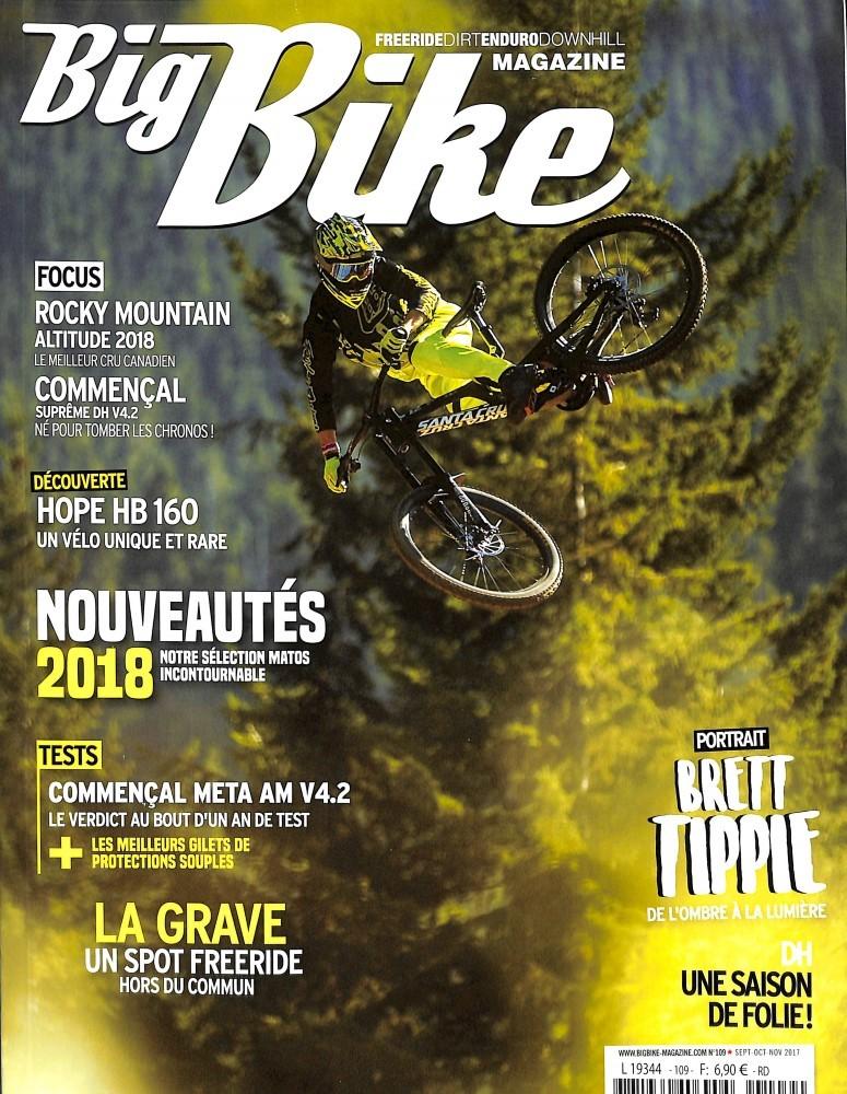 Big Bike Magazine N° 109 Octobre 2017