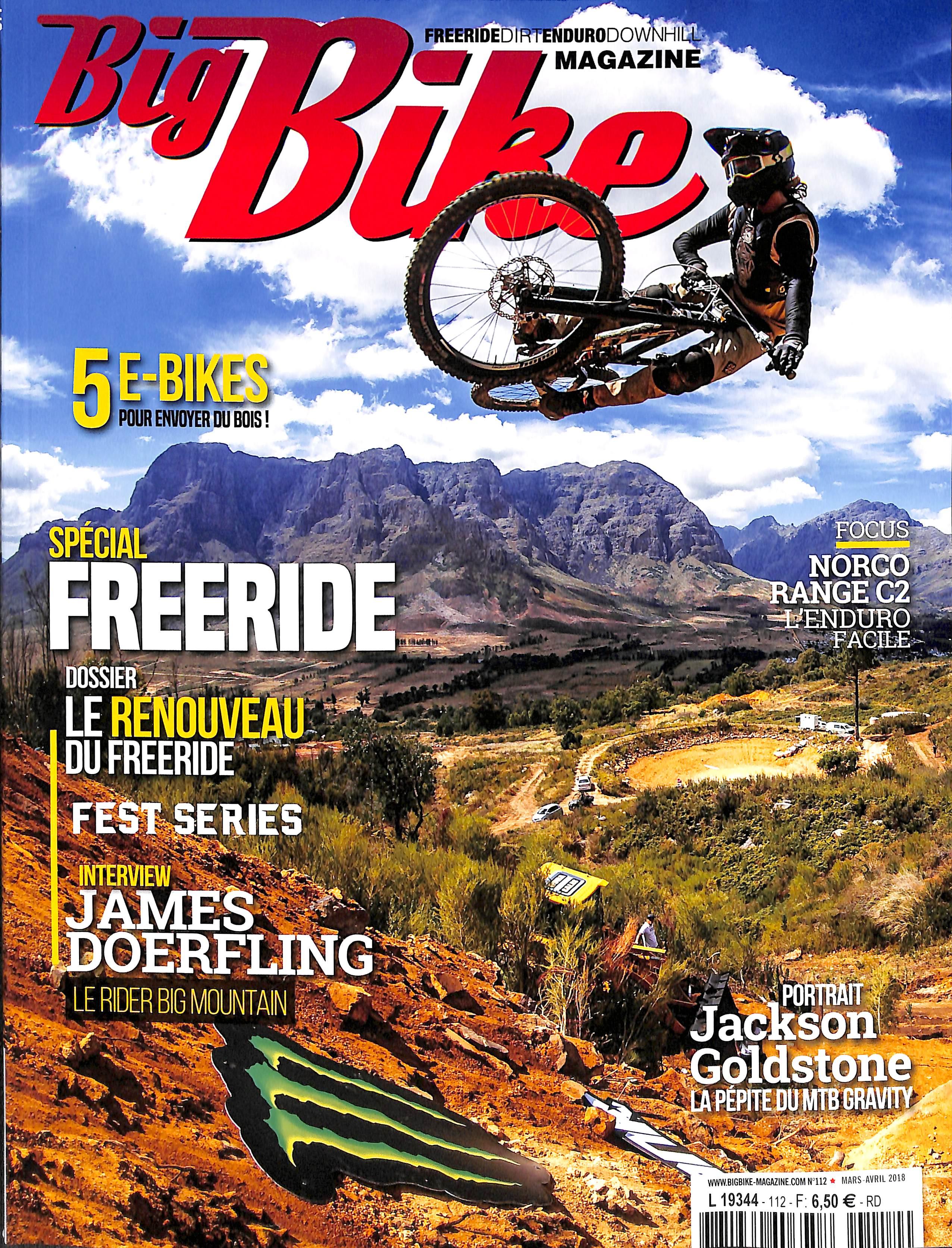 Big Bike Magazine N° 112 March 2018