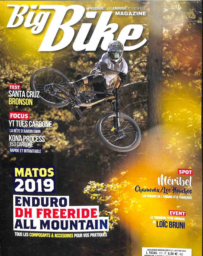 Big Bike Magazine N° 117 October 2018