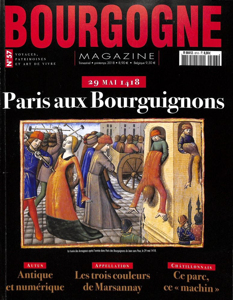 Bourgogne magazine N° 573 May 2018