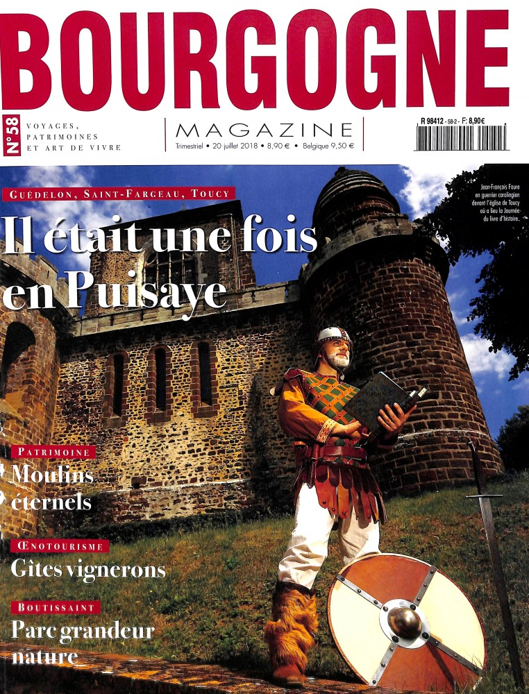 Bourgogne magazine N° 58 August 2018