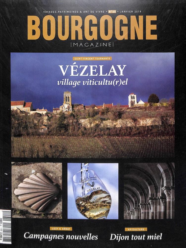Bourgogne magazine N° 601 Janvier 2019