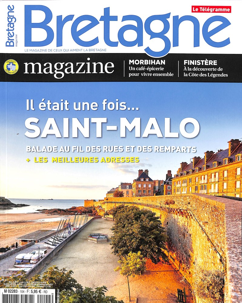 Bretagne Magazine N° 104 October 2018