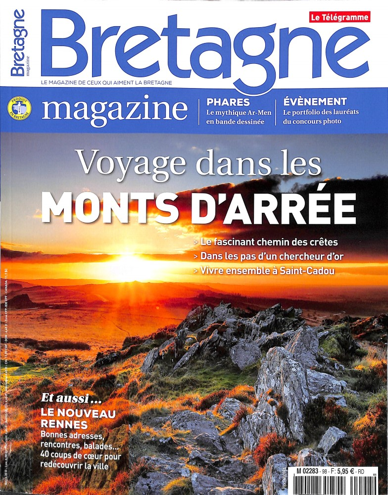 Bretagne Magazine N° 98 Octobre 2017