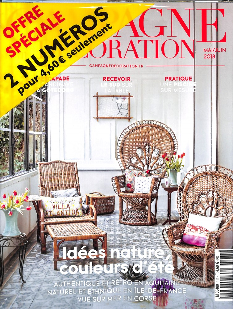 Campagne Décoration N° 111 April 2018
