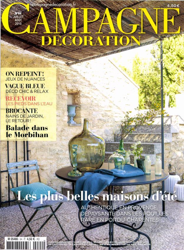 campagne d coration n 94 abonnement campagne d coration abonnement magazine par. Black Bedroom Furniture Sets. Home Design Ideas