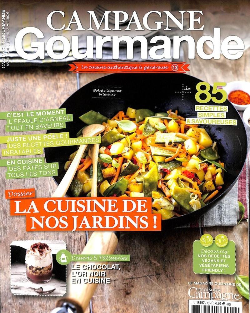 Campagne gourmande N° 13 March 2018