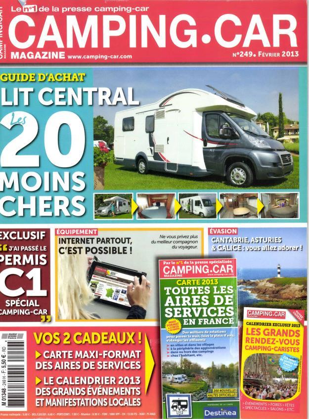 Camping-car magazine N° 322 Septembre 2019