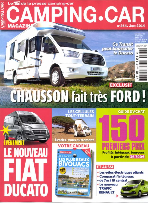 camping car magazine n 264 abonnement camping car magazine abonnement magazine par. Black Bedroom Furniture Sets. Home Design Ideas