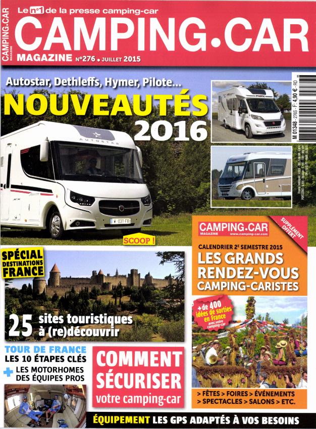 camping car magazine n 276 abonnement camping car magazine abonnement magazine par. Black Bedroom Furniture Sets. Home Design Ideas