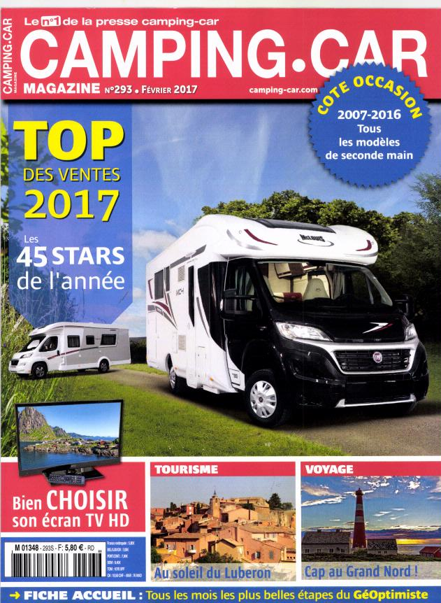 camping car magazine n 293 abonnement camping car magazine abonnement magazine par. Black Bedroom Furniture Sets. Home Design Ideas