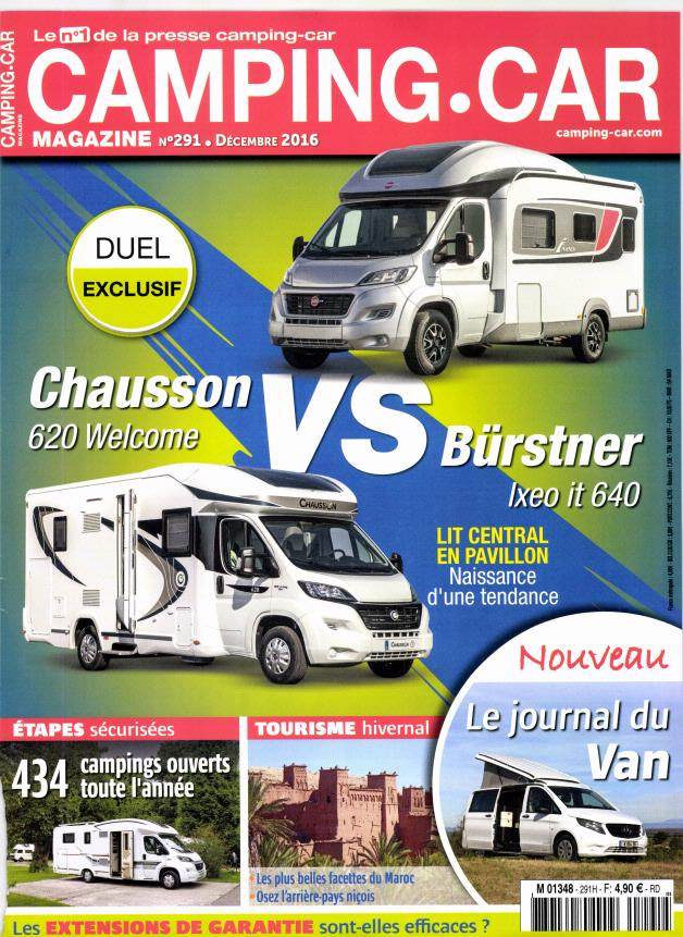 camping car magazine n 294 abonnement camping car magazine abonnement magazine par. Black Bedroom Furniture Sets. Home Design Ideas