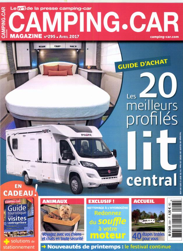 camping car magazine n 295 abonnement camping car magazine abonnement magazine par. Black Bedroom Furniture Sets. Home Design Ideas