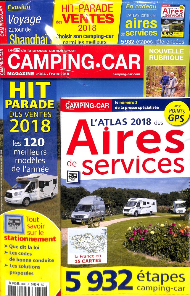 camping car magazine n 304 abonnement camping car magazine abonnement magazine par. Black Bedroom Furniture Sets. Home Design Ideas