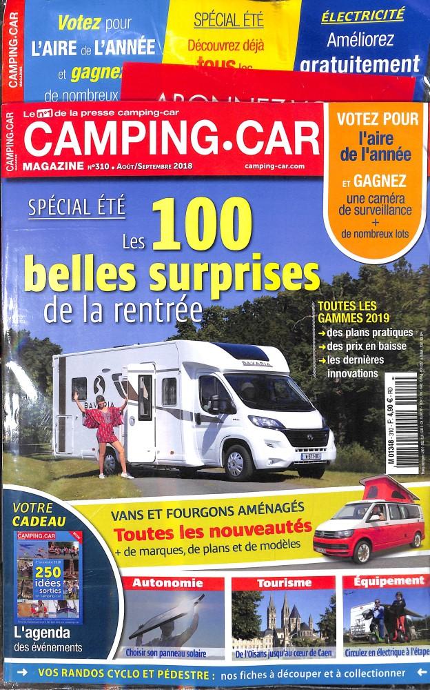 Camping-car magazine N° 309 June 2018