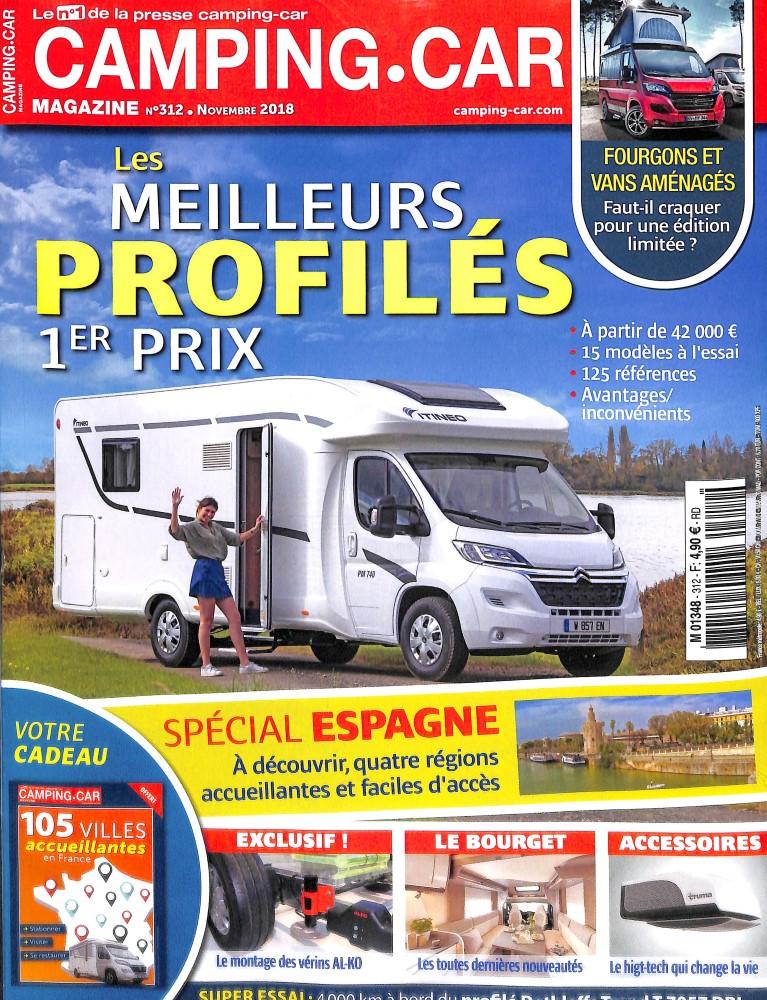 abonnement camping car magazine intermagazines. Black Bedroom Furniture Sets. Home Design Ideas