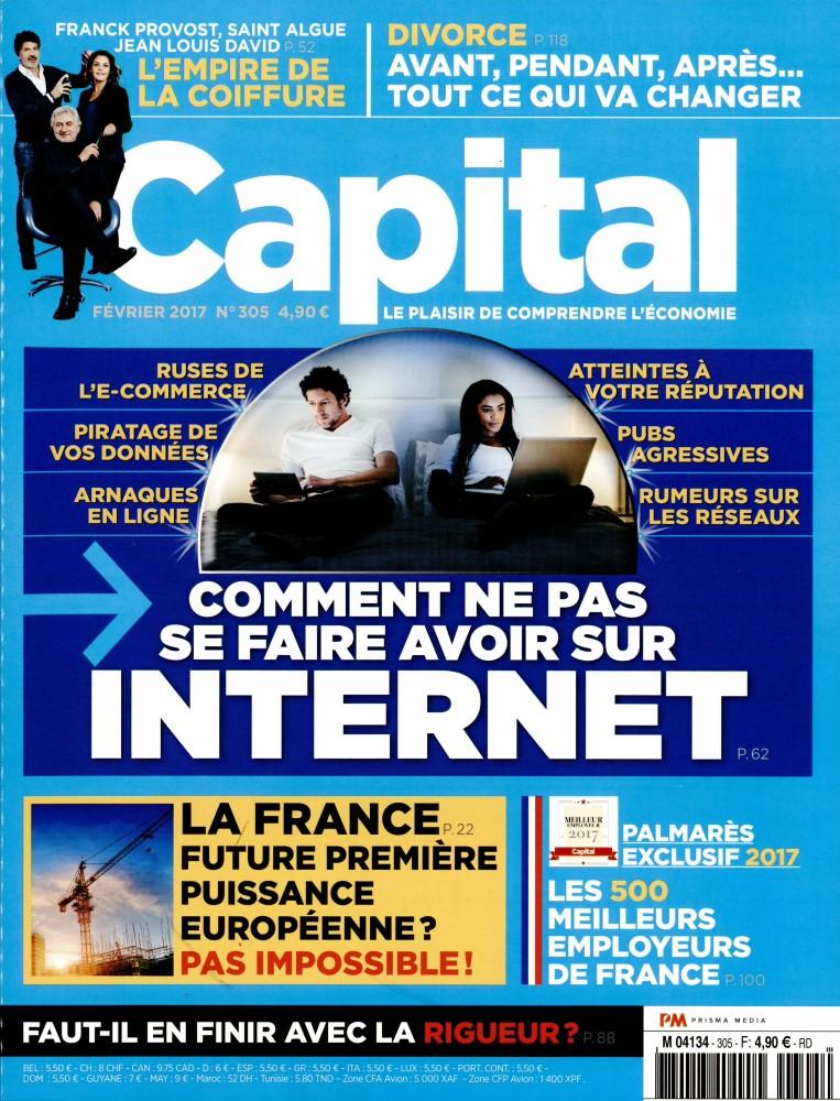 Capital N° 305 Janvier 2017