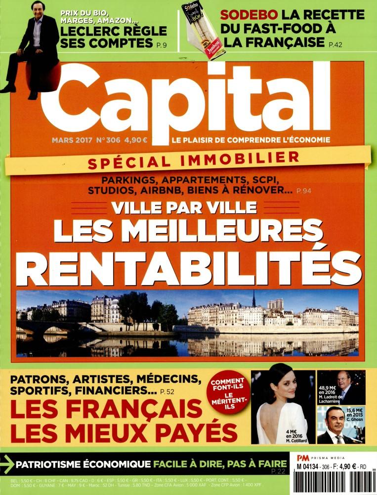 Capital N° 306 Février 2017