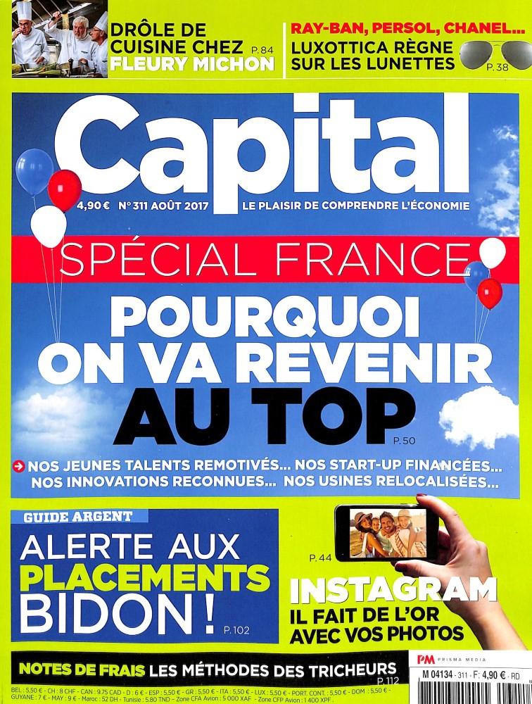 Capital N° 311 Juillet 2017